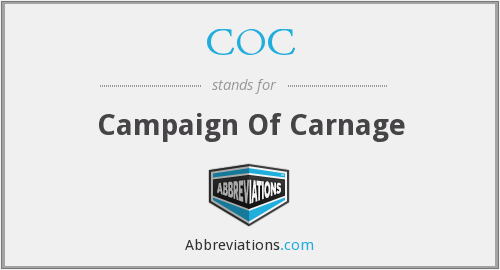 COC - Campaign Of Carnage