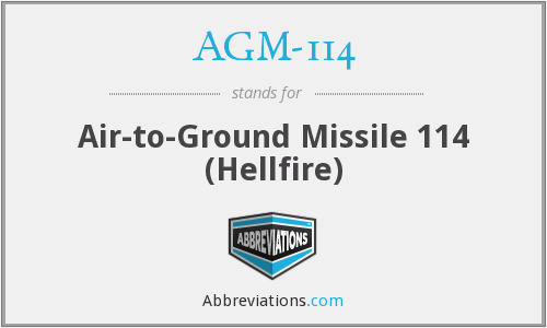 What does AGM-114 stand for?