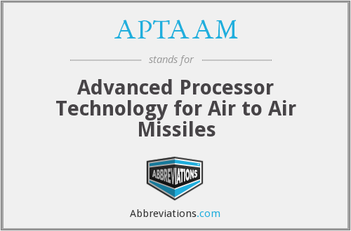What does APTAAM stand for?