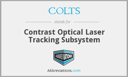 COLTS - Contrast Optical Laser Tracking Subsystem