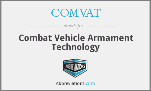 COMVAT - Combat Vehicle Armament Technology