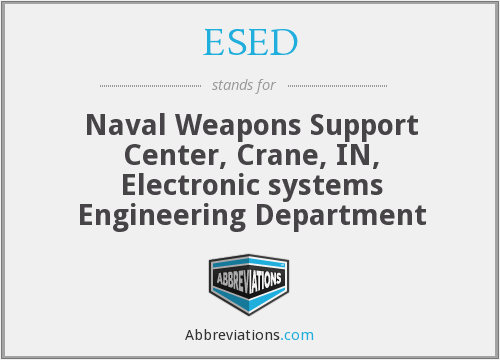 What does ESED stand for?
