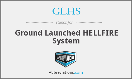 GLHS - Ground Launched HELLFIRE System