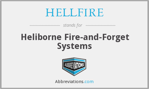 What does HELLFIRE stand for?