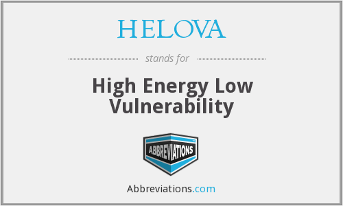 What does HELOVA stand for?