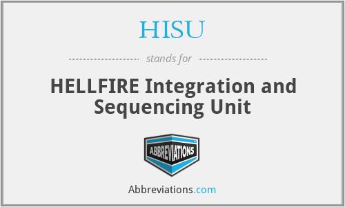 HISU - HELLFIRE Integration and Sequencing Unit