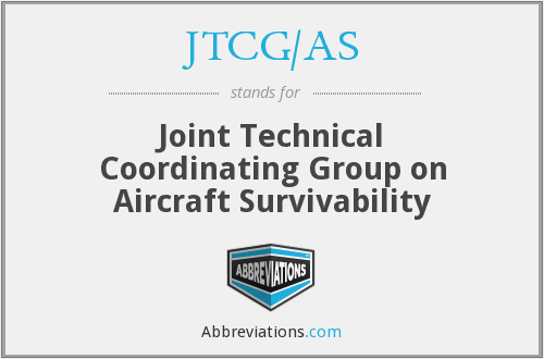 What does JTCG/AS stand for?