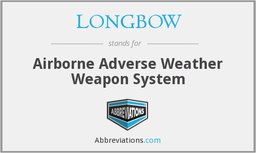 What does LONGBOW stand for?