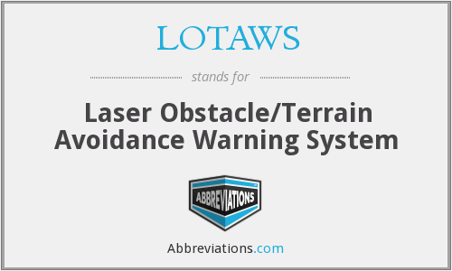 What does LOTAWS stand for?
