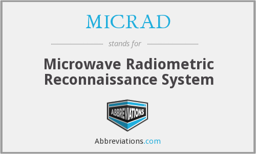 What does MICRAD stand for?