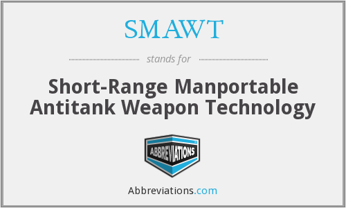 What does SMAWT stand for?