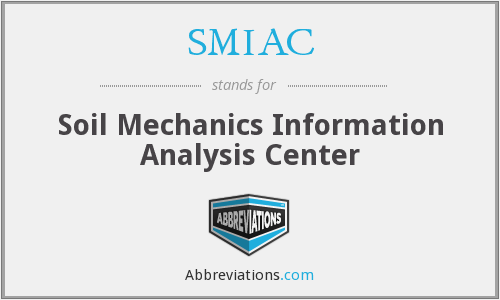What does SMIAC stand for?