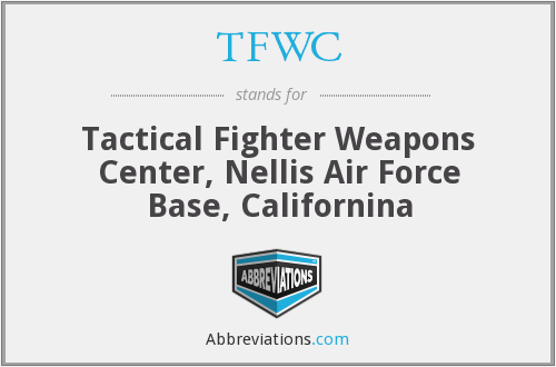 What does TFWC stand for?