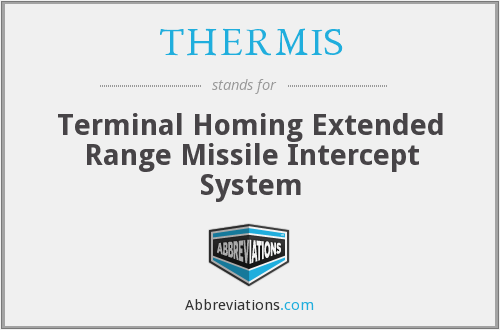 What does THERMIS stand for?