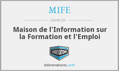 What does MIFE stand for?
