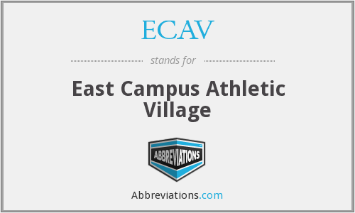 What does ECAV stand for?