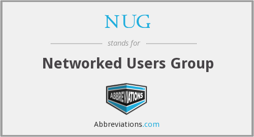 NUG - Networked Users Group