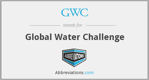 GWC - Global Water Challenge