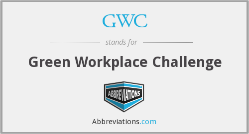 GWC - Green Workplace Challenge