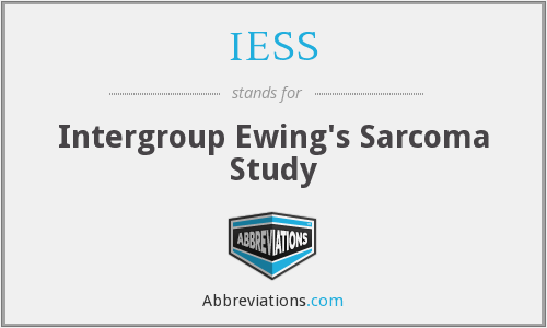 IESS - Intergroup Ewing's Sarcoma Study