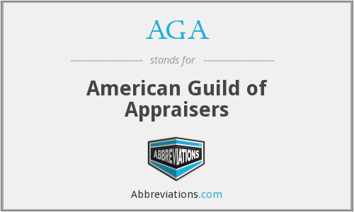 AGA - American Guild of Appraisers