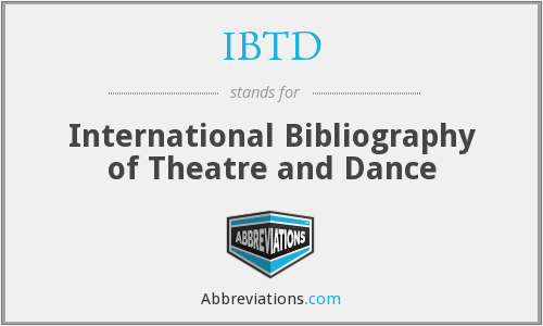 What does IBTD stand for?