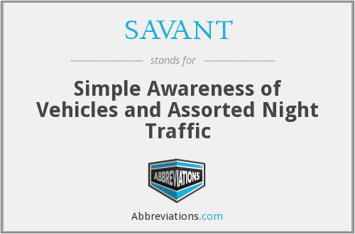 What does SAVANT stand for?