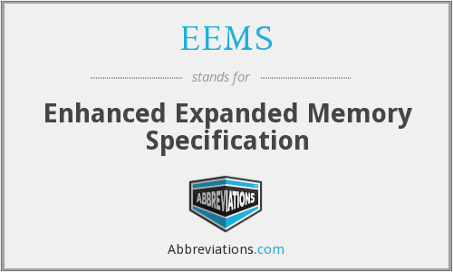 What does EEMS stand for?