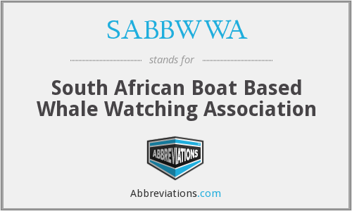 What does SABBWWA stand for?