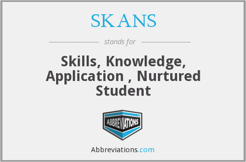 What does SKANS stand for?