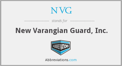 NVG - New Varangian Guard, Inc.