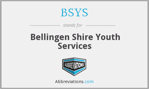 BSYS - Bellingen Shire Youth Services