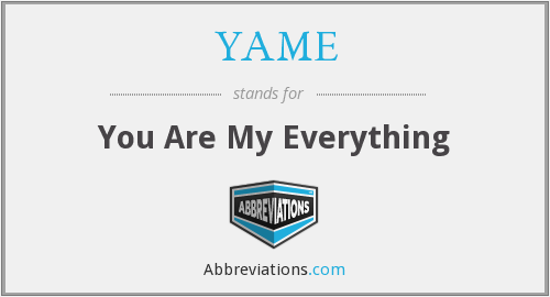 What does YAME stand for?