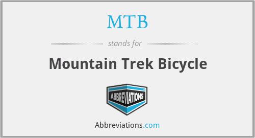MTB - Mountain Trek Bicycle