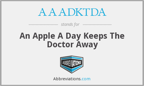What does AAADKTDA stand for?