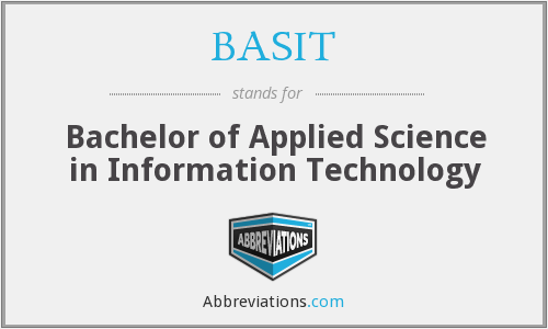 What does BASIT stand for?
