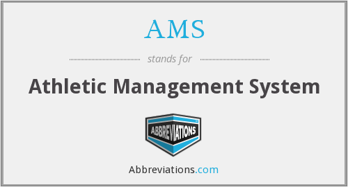 AMS - Athletic Management System