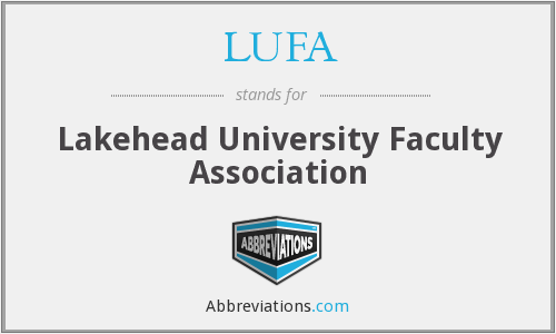 What does LUFA stand for?