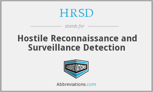 What does HRSD stand for?