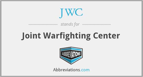 JWC - Joint Warfighting Center