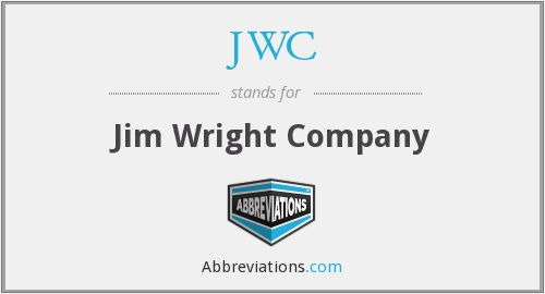 JWC - Jim Wright Company
