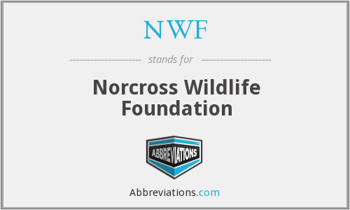 NWF - Norcross Wildlife Foundation