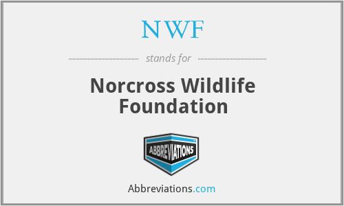 NWF - Norcross Wildlife Foundation