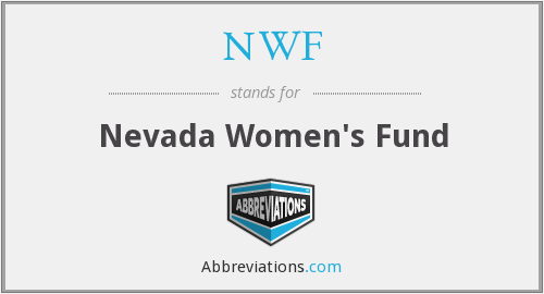 NWF - Nevada Women's Fund