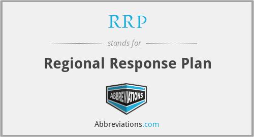RRP - Regional Response Plan