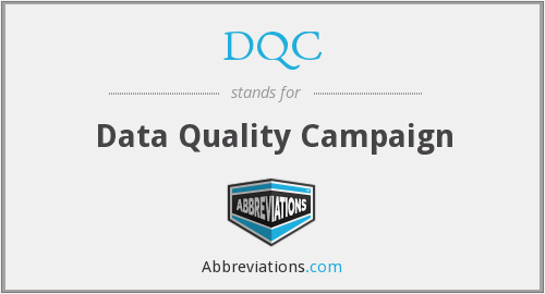 What does DQC stand for?