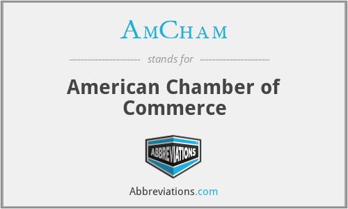 AmCham - American Chamber of Commerce