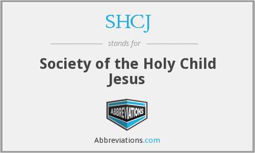 What does SHCJ stand for?