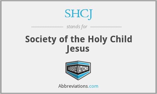 SHCJ - Society of the Holy Child Jesus