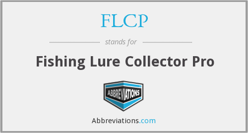 FLCP - Fishing Lure Collector Pro